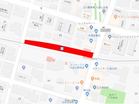 九品仏駅周辺地図c.jpg