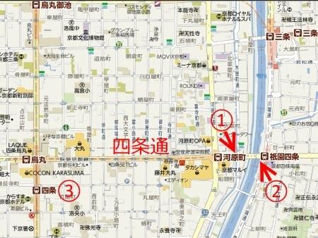 河原町駅周辺路線図c.jpg