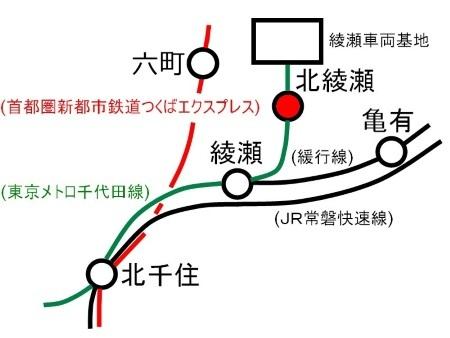 北綾瀬駅周辺路線図c.jpg