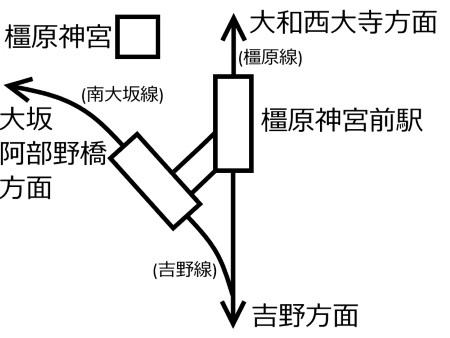 橿原神宮前駅周辺路線図c.jpg